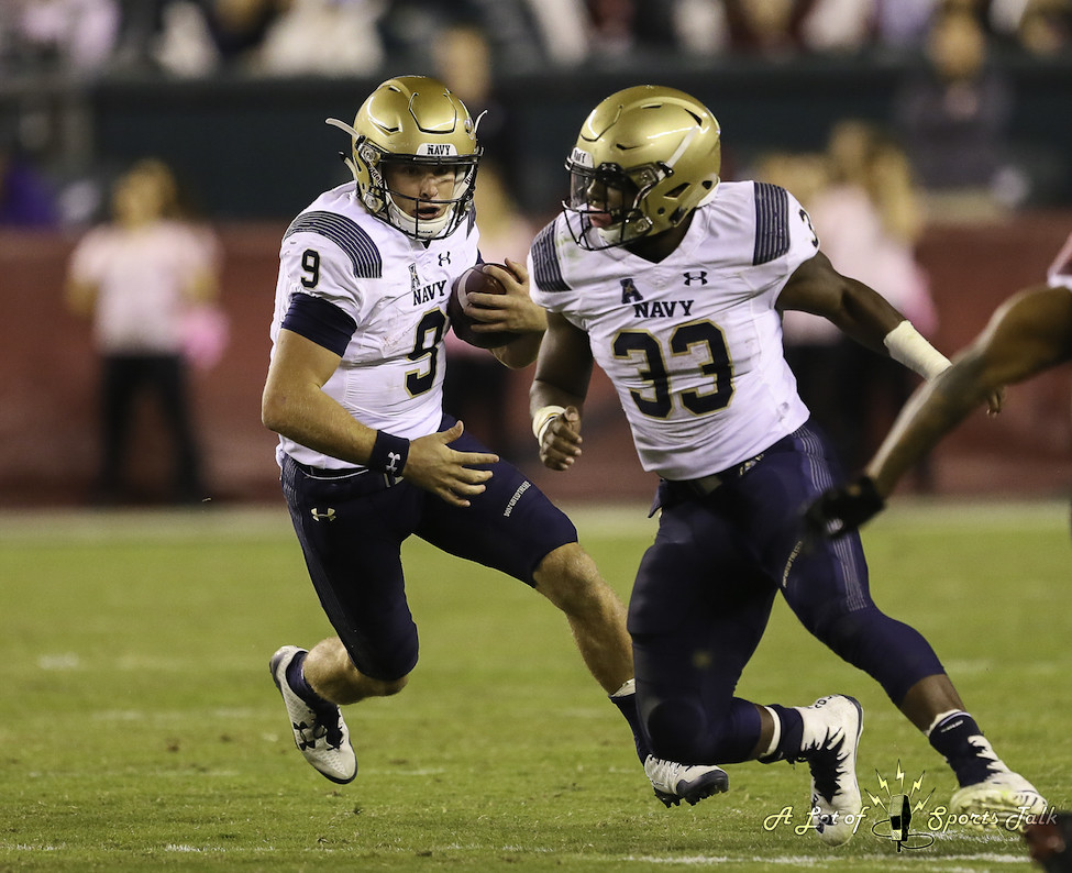 NCAAFB: Navy at Temple (11.02.17)