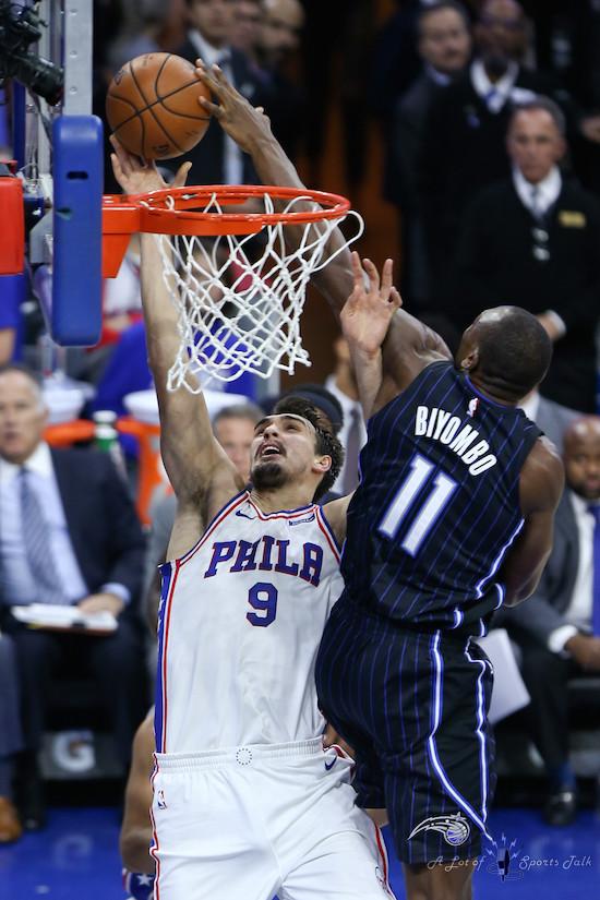 NBA: Orlando Magic at Philadelphia 76ers (11.25.17)