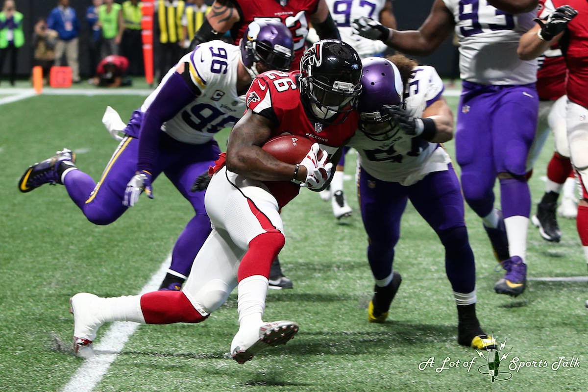 NFL: Minnesota Vikings at Atlanta Falcons (12.03.17)