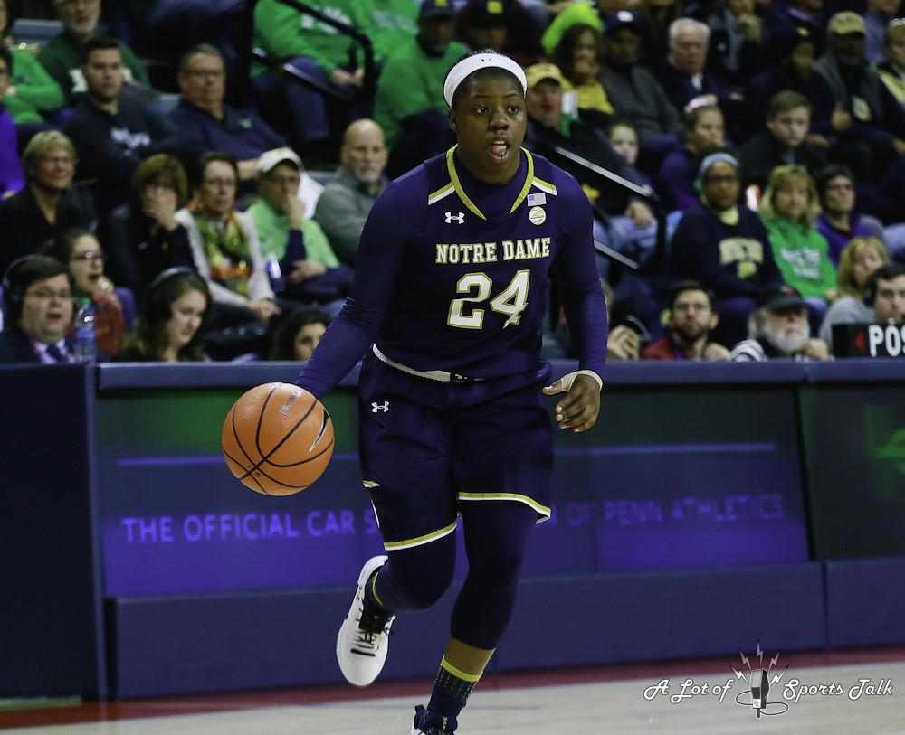 WBB: No. 3 Notre Dame at Penn (12.09.17)