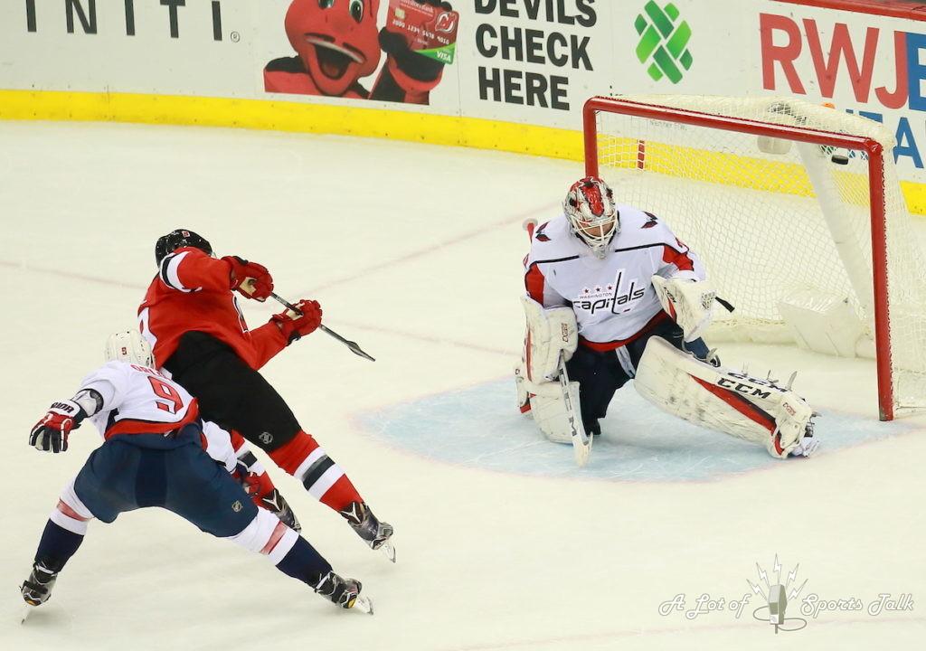 NHL: Washington Capitals at New Jersey Devils (01.18.18)