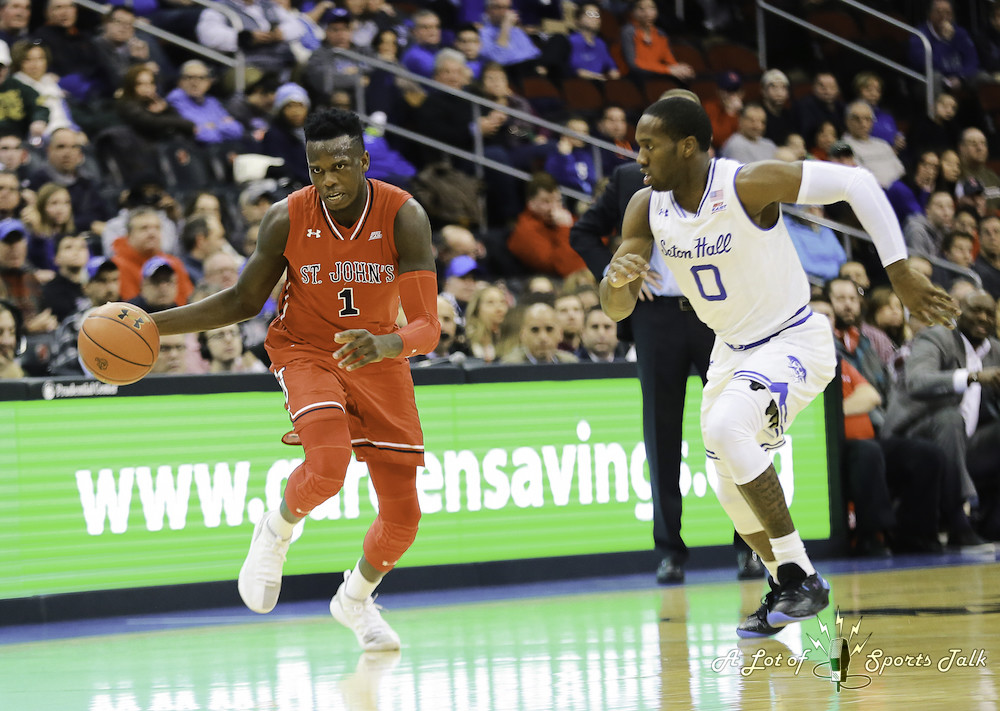 NCAA BB: St. John's vs. Seton Hall (12.31.17)