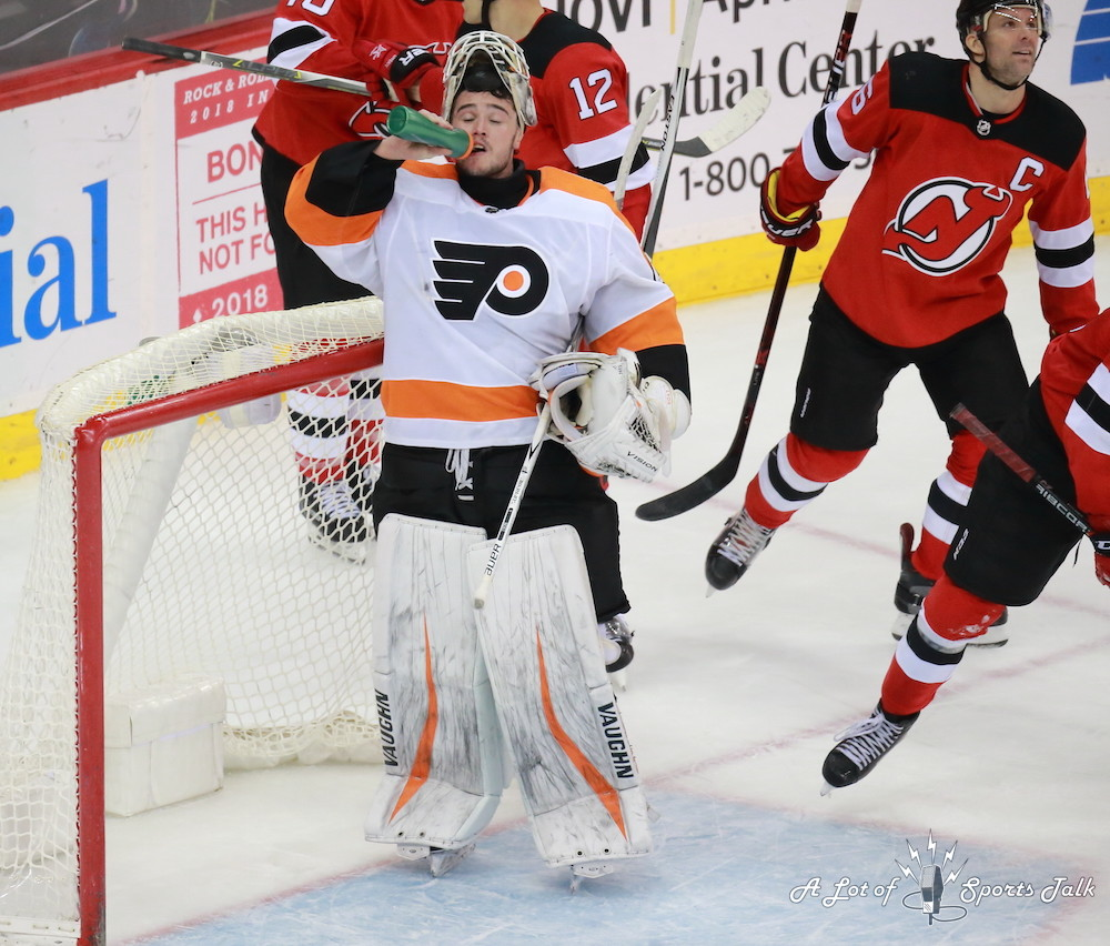 NHL: Philadelphia Flyers at New Jersey Devils (02.01.18)
