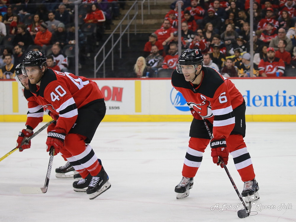 NHL: Pittsburgh Penguins at New Jersey Devils (02.03.18)