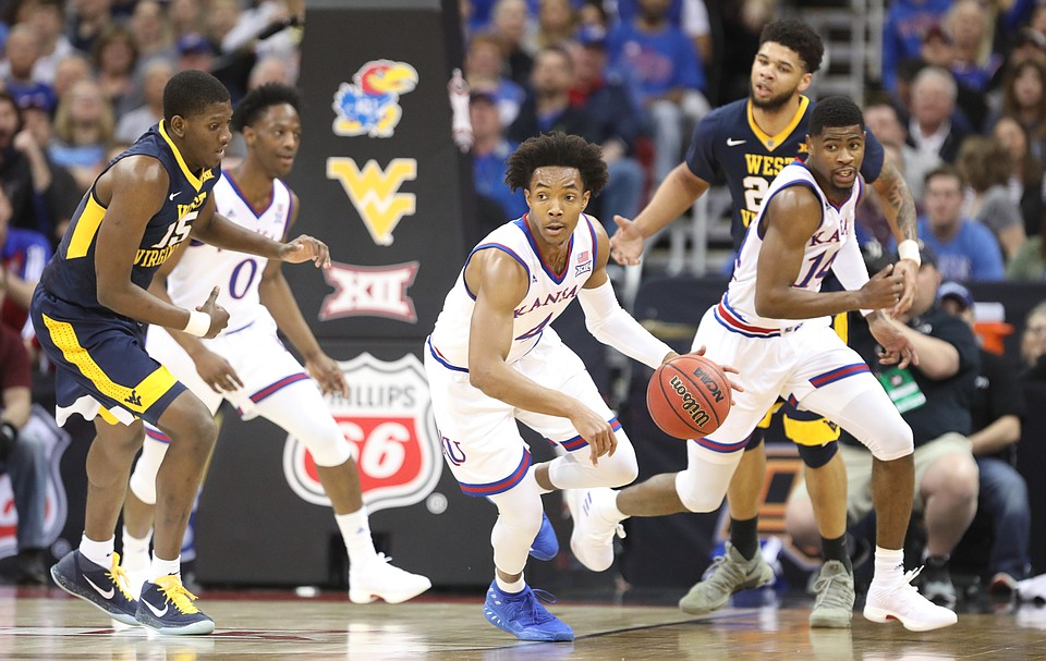 No. 1 Kansas Jayhawks