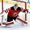 NHL 2017: Detroit Red Wings at New Jersey Devils