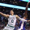 Jayson+Tatum+Philadelphia+76ers+v+Boston+Celtics+GialTInK05Nl