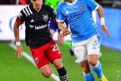 DC United home Opener vs. New YorkCity FC2021Covid -19 Game
